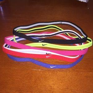 6 reversible Nike headbands